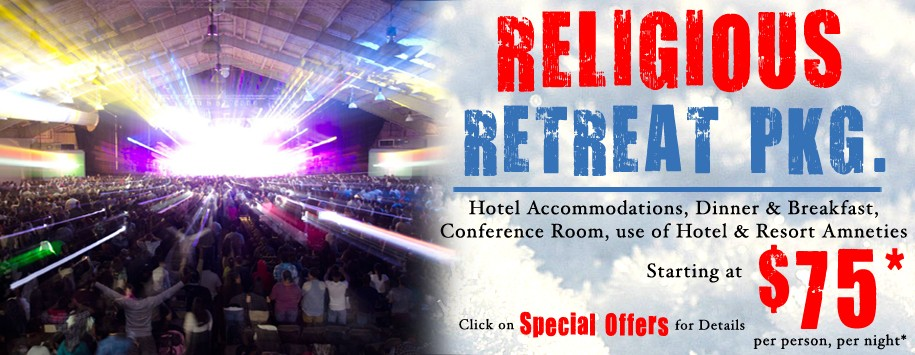 Religious Retreat Special Offer Banner